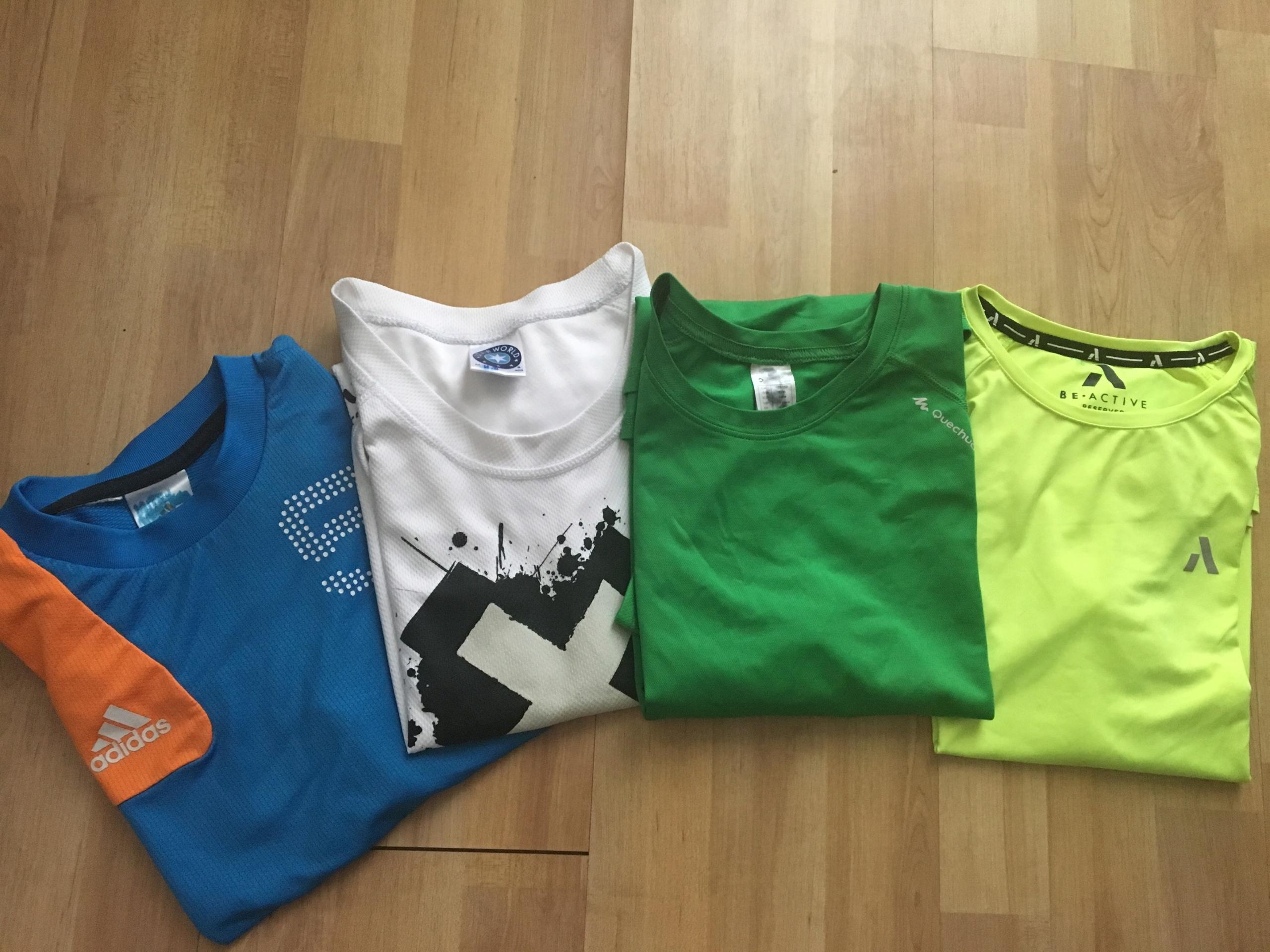 sportowe koszulki 146-152 adidas