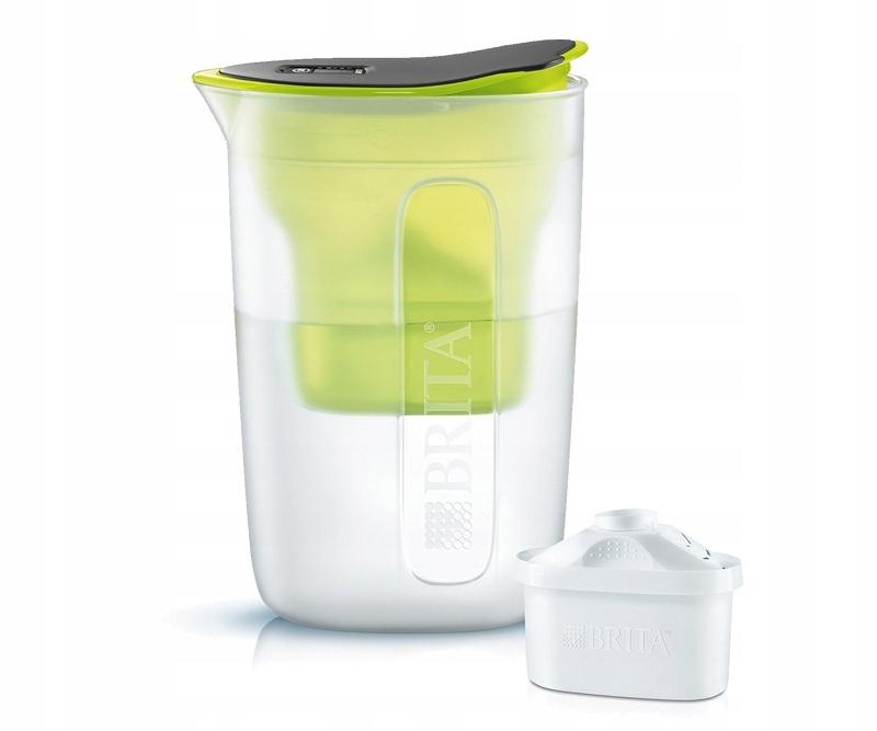 DZBANEK filtrujący wodę Brita Fun Limonka 1,5l
