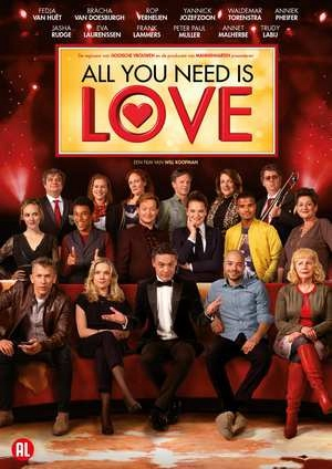 DVD Movie - All You Need Is Love Cast: Fedja Van H