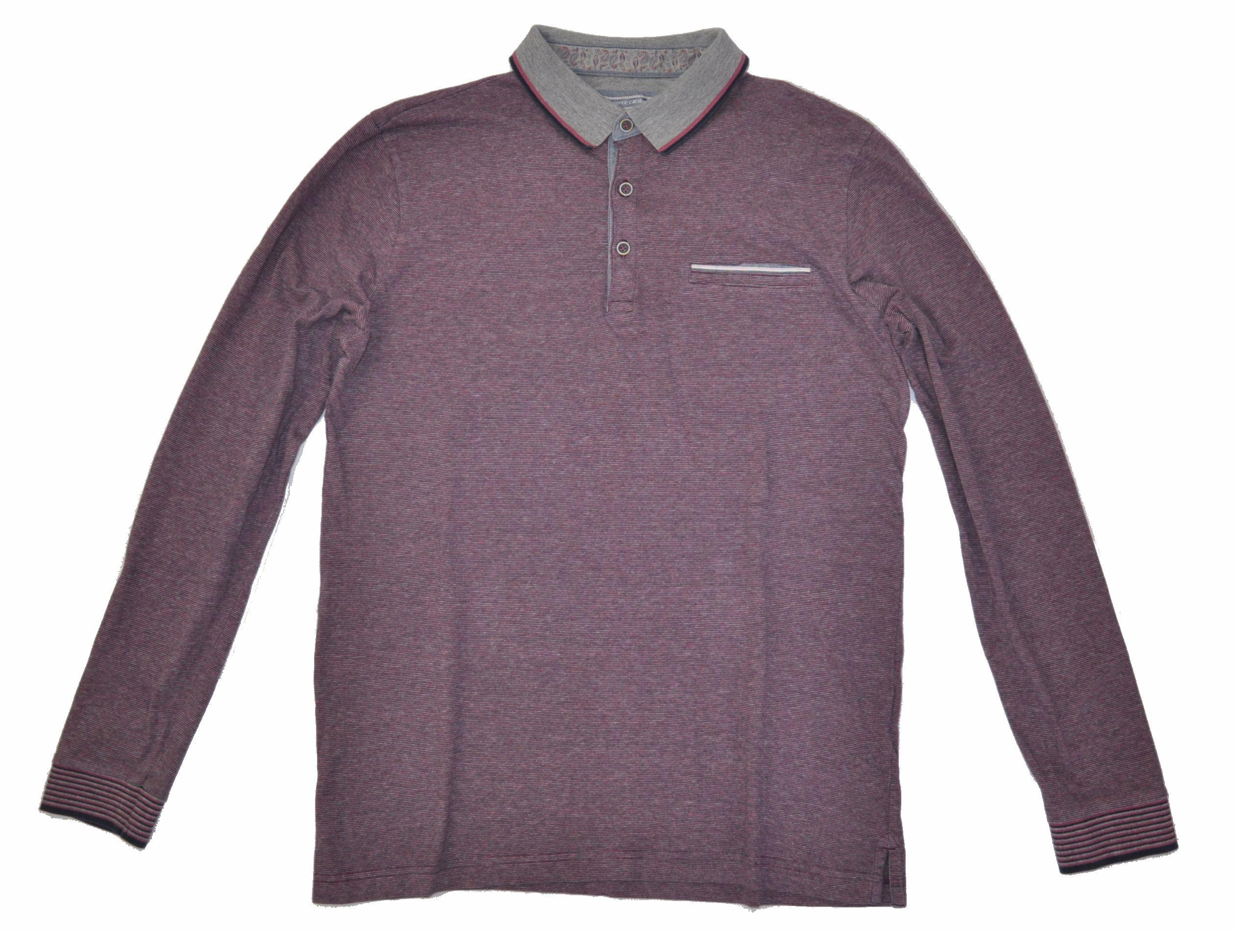 PIERRE CARDIN bluzka koszulka męska M