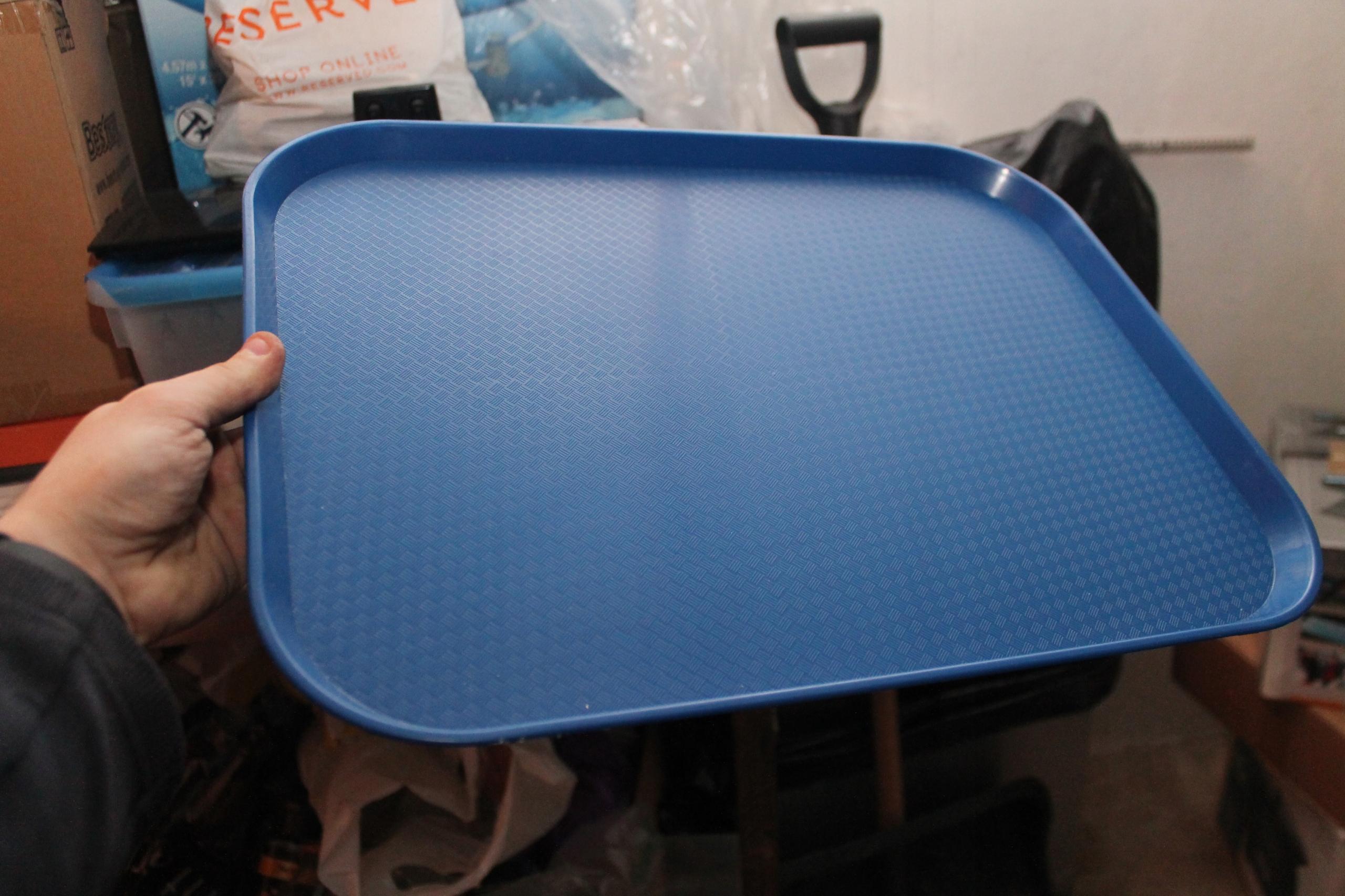 Taca z polipropylenu - FAST FOOD 350x450 kpl 16szt