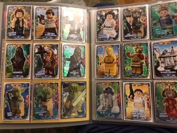 Karty Lego Star Wars saszetki na sztuki 1-49