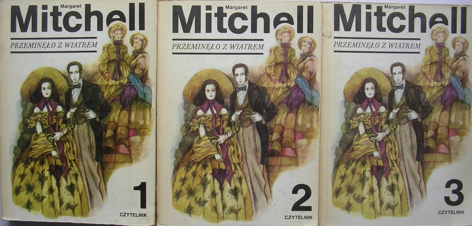 Przeminęło z wiatrem t. 1 -3 komplet Mitchell