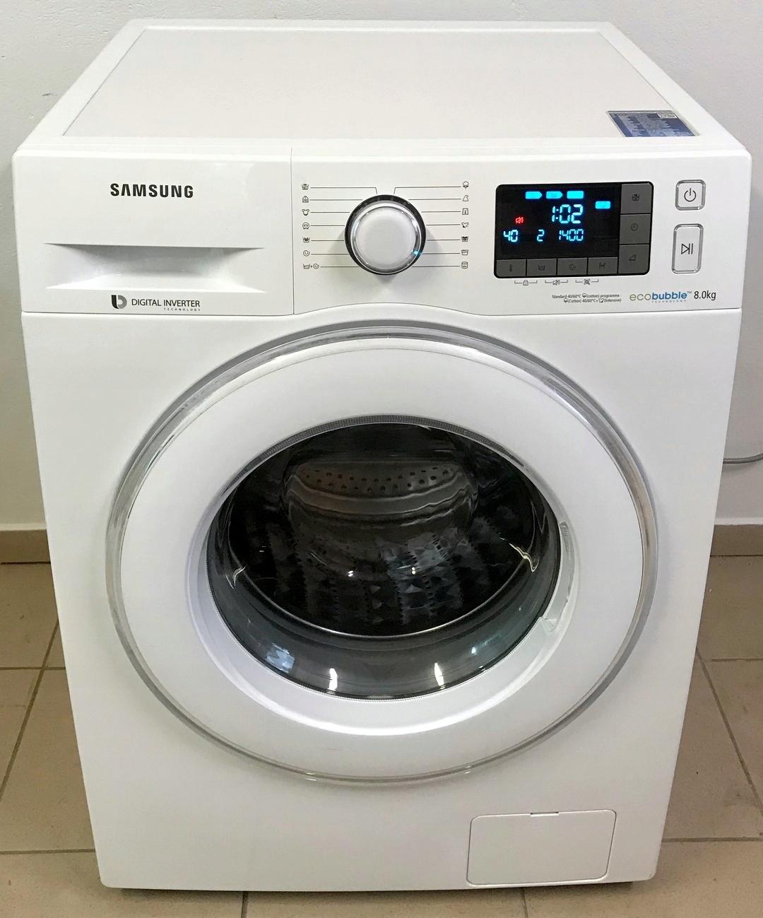 Pralka Samsung Eco Bubble 8kg A+++ 1400obr/min GW