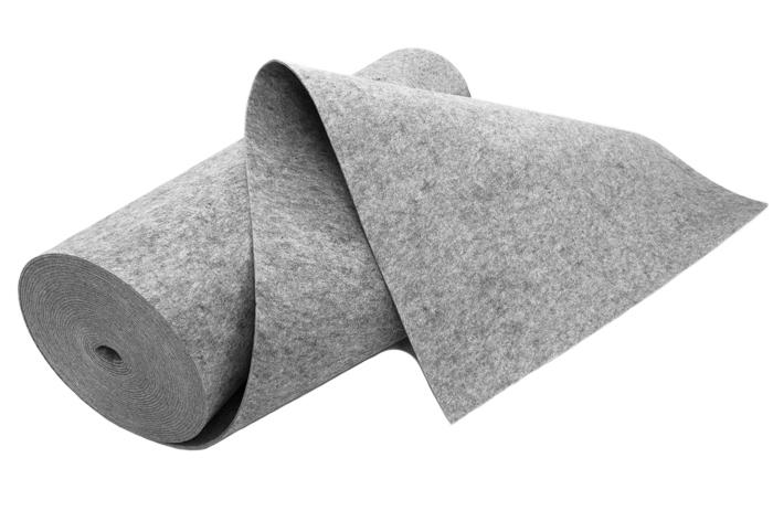 Filc SZARY 6 mm 550 g/m2 - na torebki etui -1.5 m2