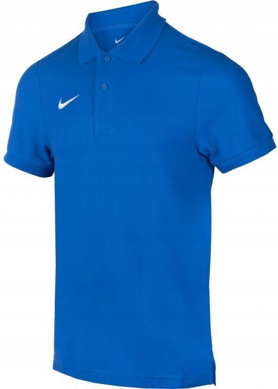 Nike Koszulka polo Team Core Polo M r. L niebieska