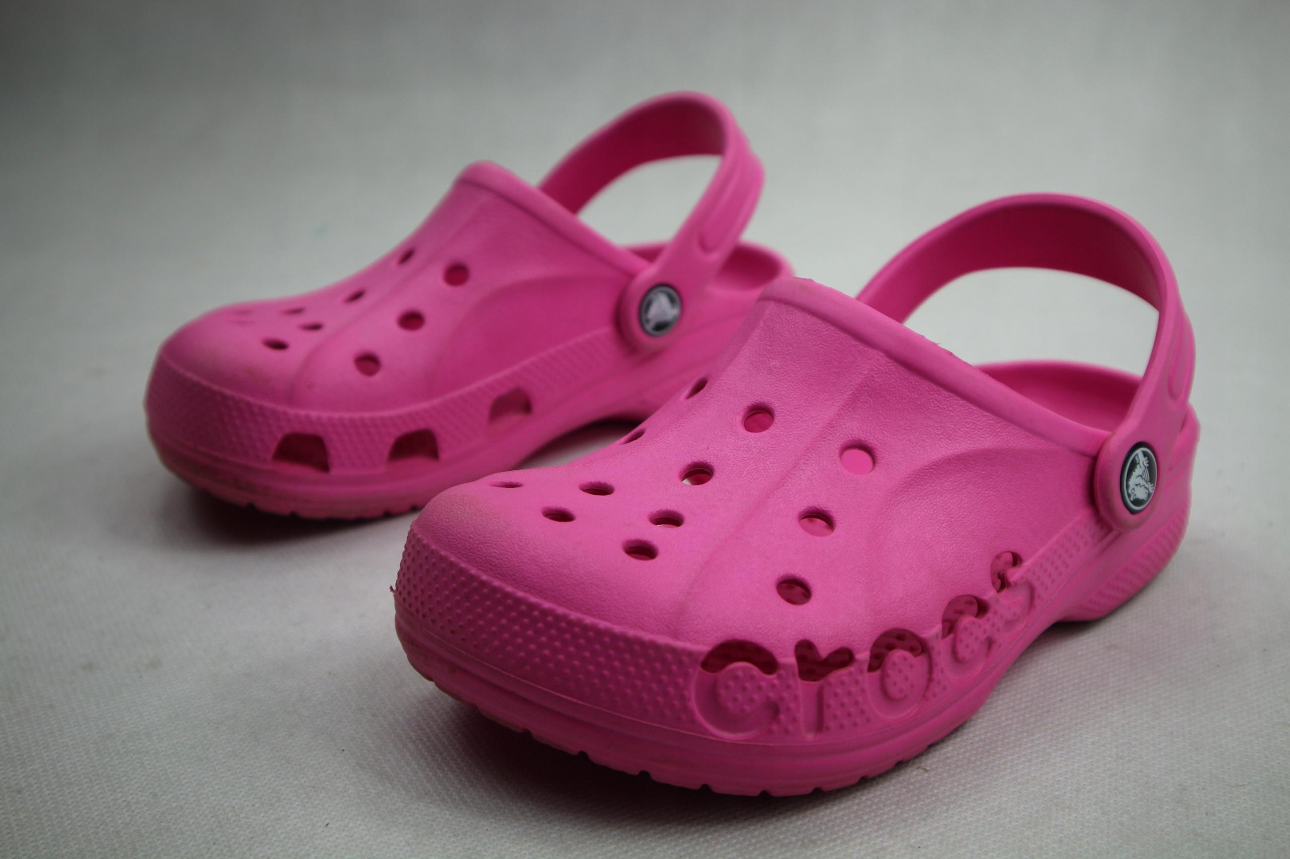 Crocs kultowe klapki dla dziewczynki 33 21cm