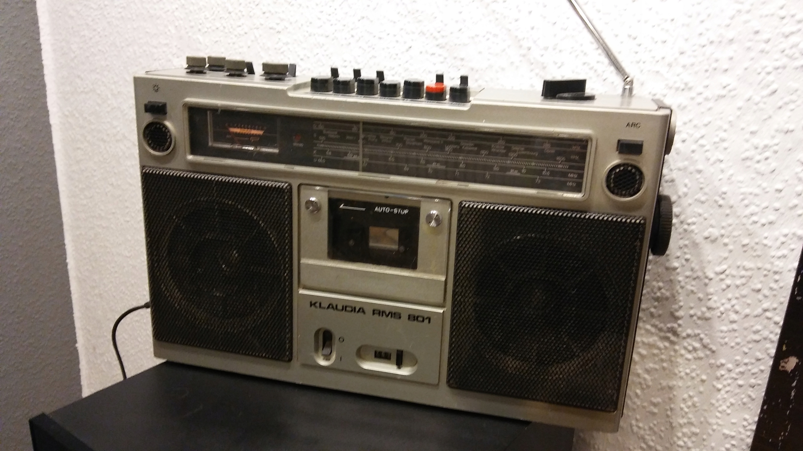 Radiomagnetofon UNITRA KLAUDIA RMS 801