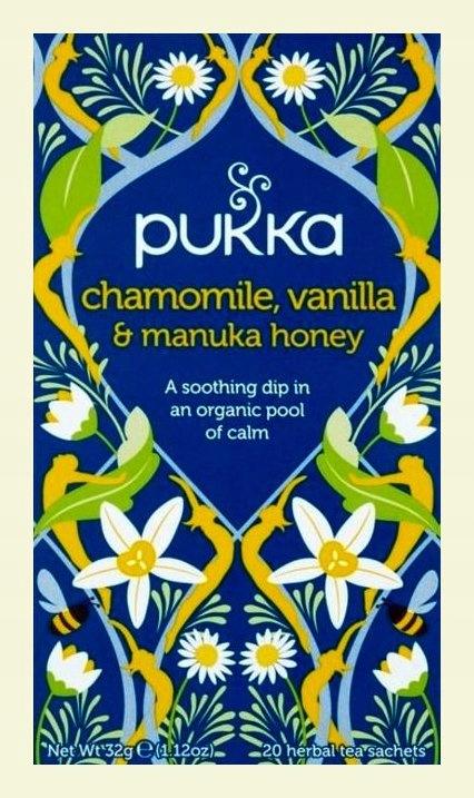Pukka Chamomile Vanilla Manuka Honey(Anglia)