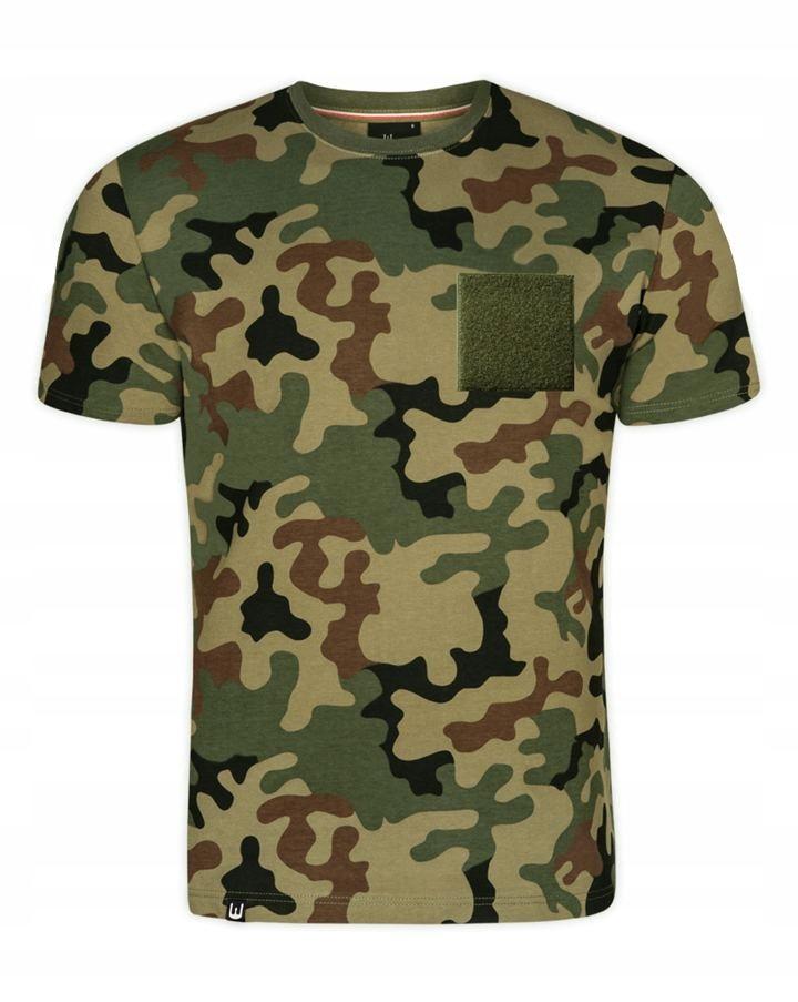 Koszulka męska militarna z rzepem (WZ.93) XL