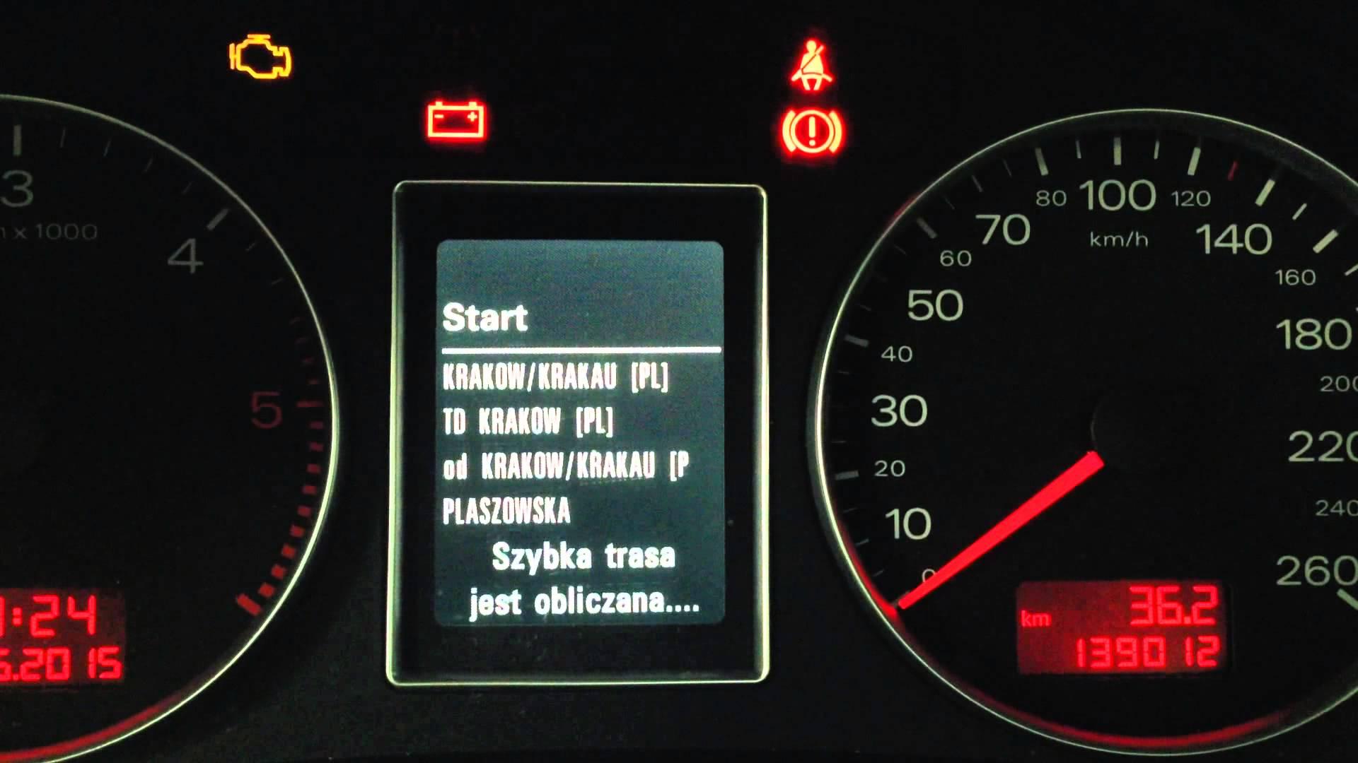 Polskie Menu Lektor Audi Mmi2g Rnse D Fis Mapa 18 7500799796
