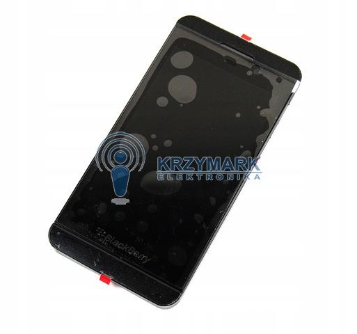 BLACKBERRY LCD Z10 4G + DOTYK Z CZARNY RAMKĄ