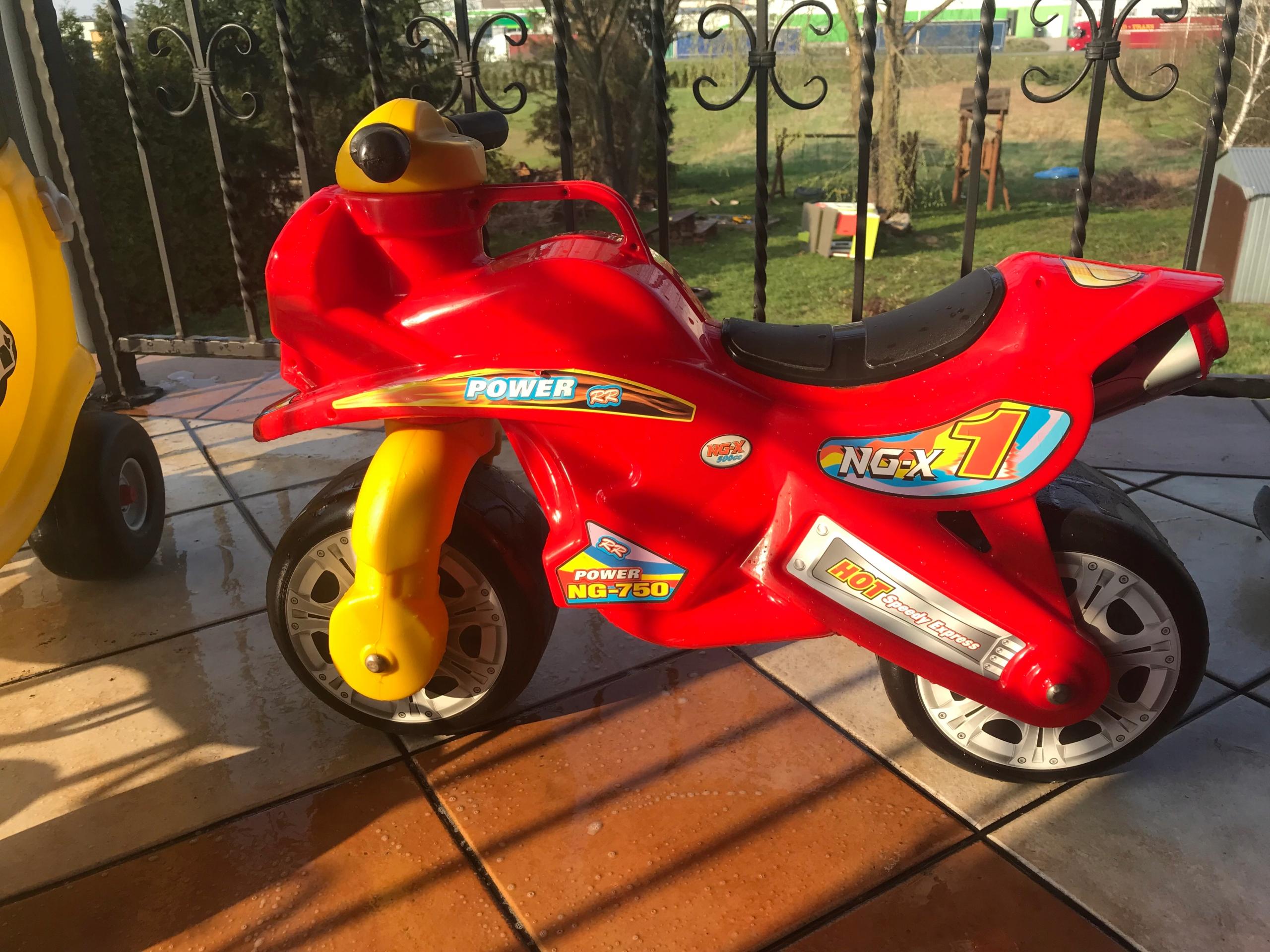 Motor dla dziecka STAN JAK NOWY, jeździk