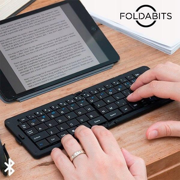 Składana Klawiatura Bluetooth Foldabits