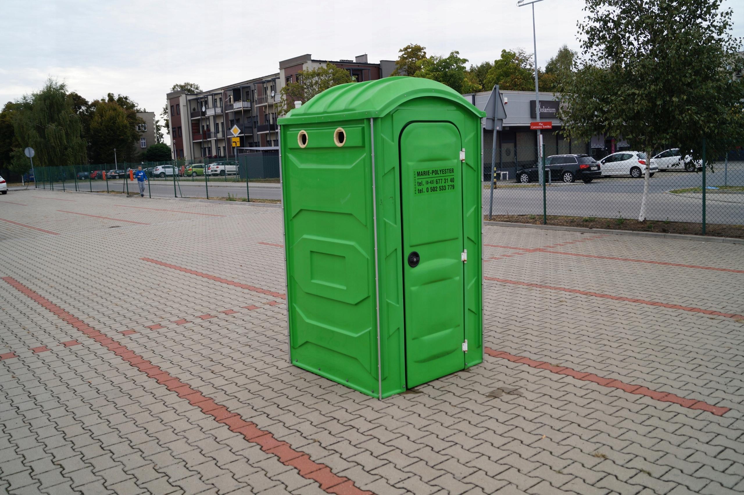 Ogromnie Toi Toi Toaleta przenośna Marie Wc Zielona - 7586042258 AZ72