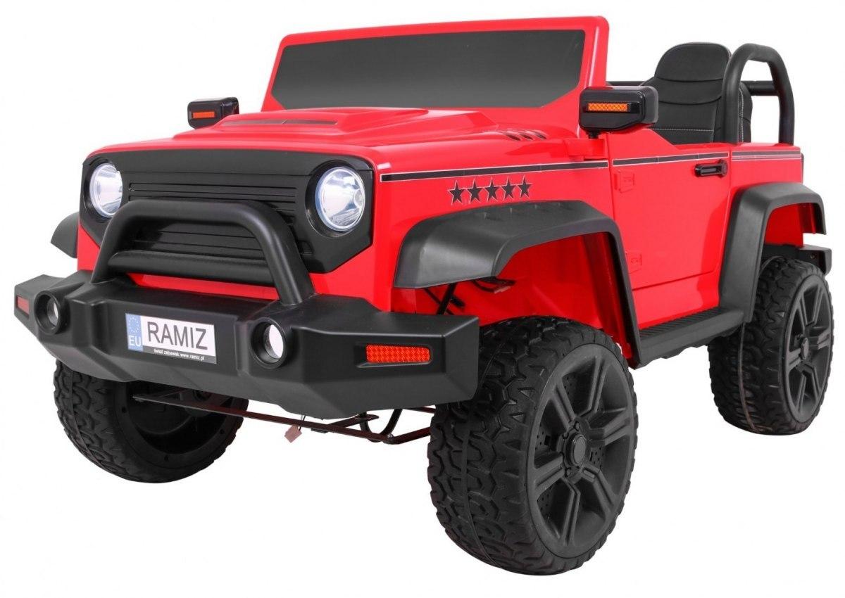 Pojazd STRONG 4 x 4 czerwony