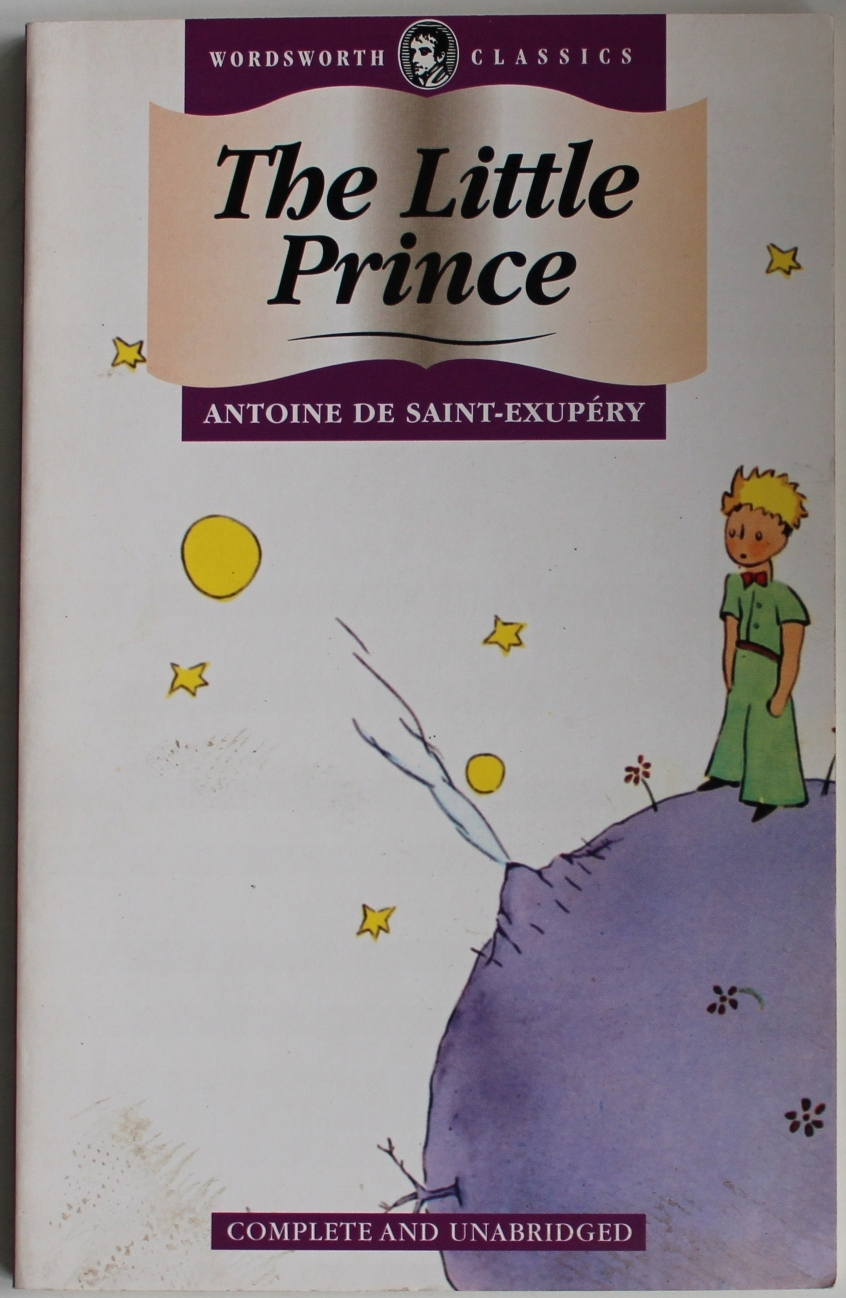 THE LITTLE PRINCE Saint-Exupery mały książę WAWA