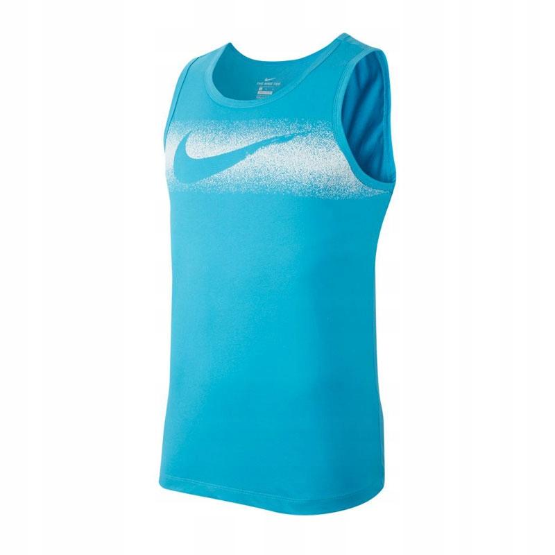 Nike Dry Tank Chalk Swoosh Bezrękawnik 433 S!
