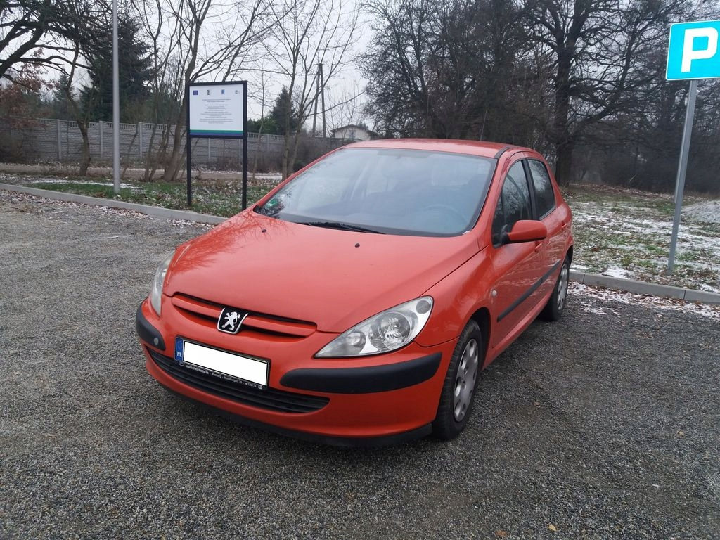 PEUGEOT 307, 1.6 BENZYNA, 2002r,