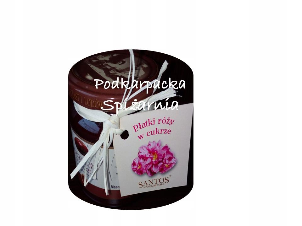 Konfitura polskie płatki róży 220g