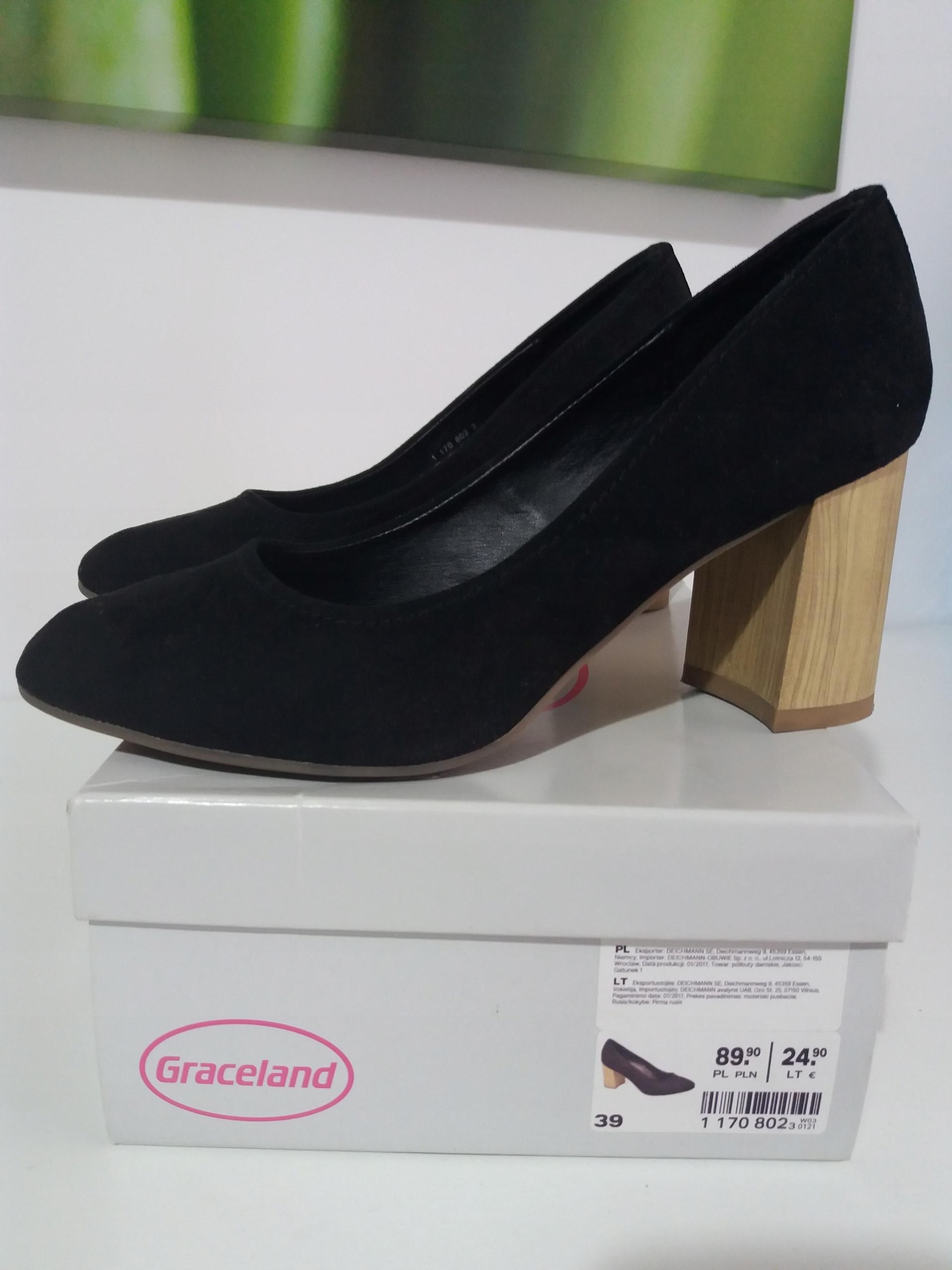 buty damskie rozmiar 39 nowe deichmann 40