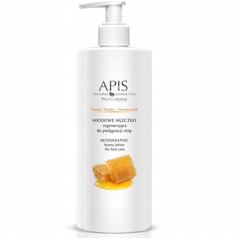 APIS Plaster Miodu miodowe mleczko intensywnie reg