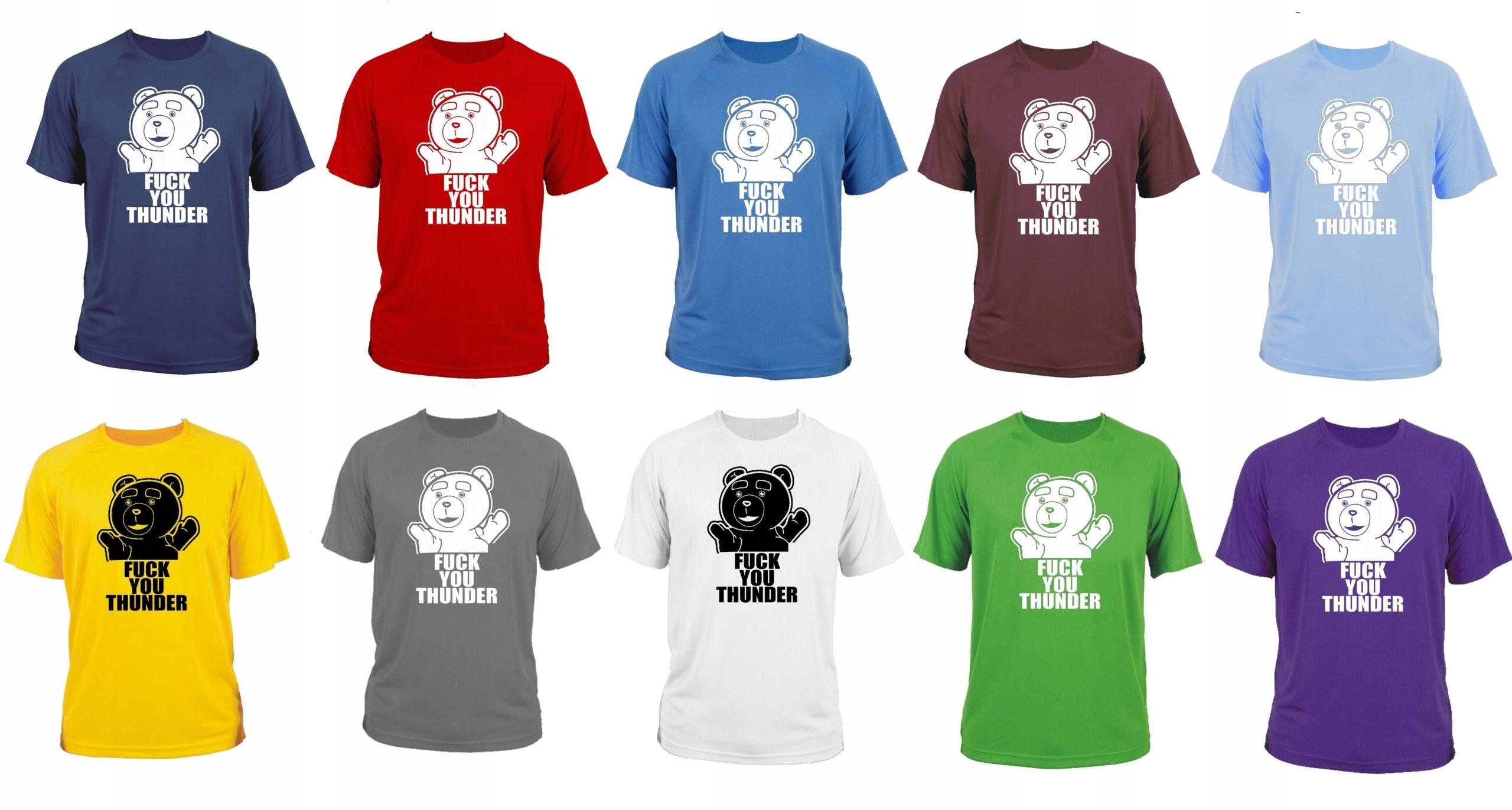 e1cbecfdbaf86c koszulka t-shirt Ted | fuck you thunder L - 7390361401 - oficjalne ...