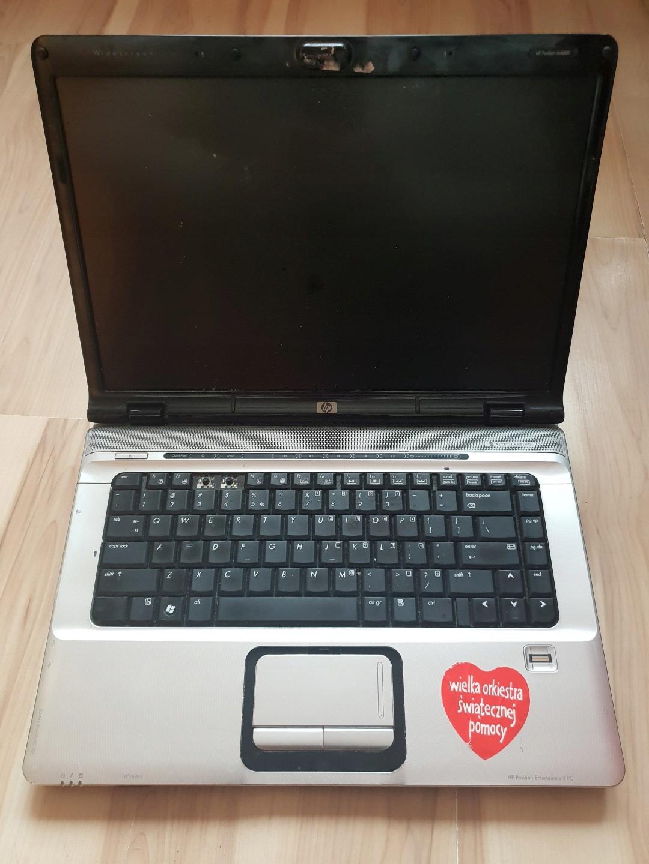 Uszkodzony laptop HP Pavilion dv6740 na części
