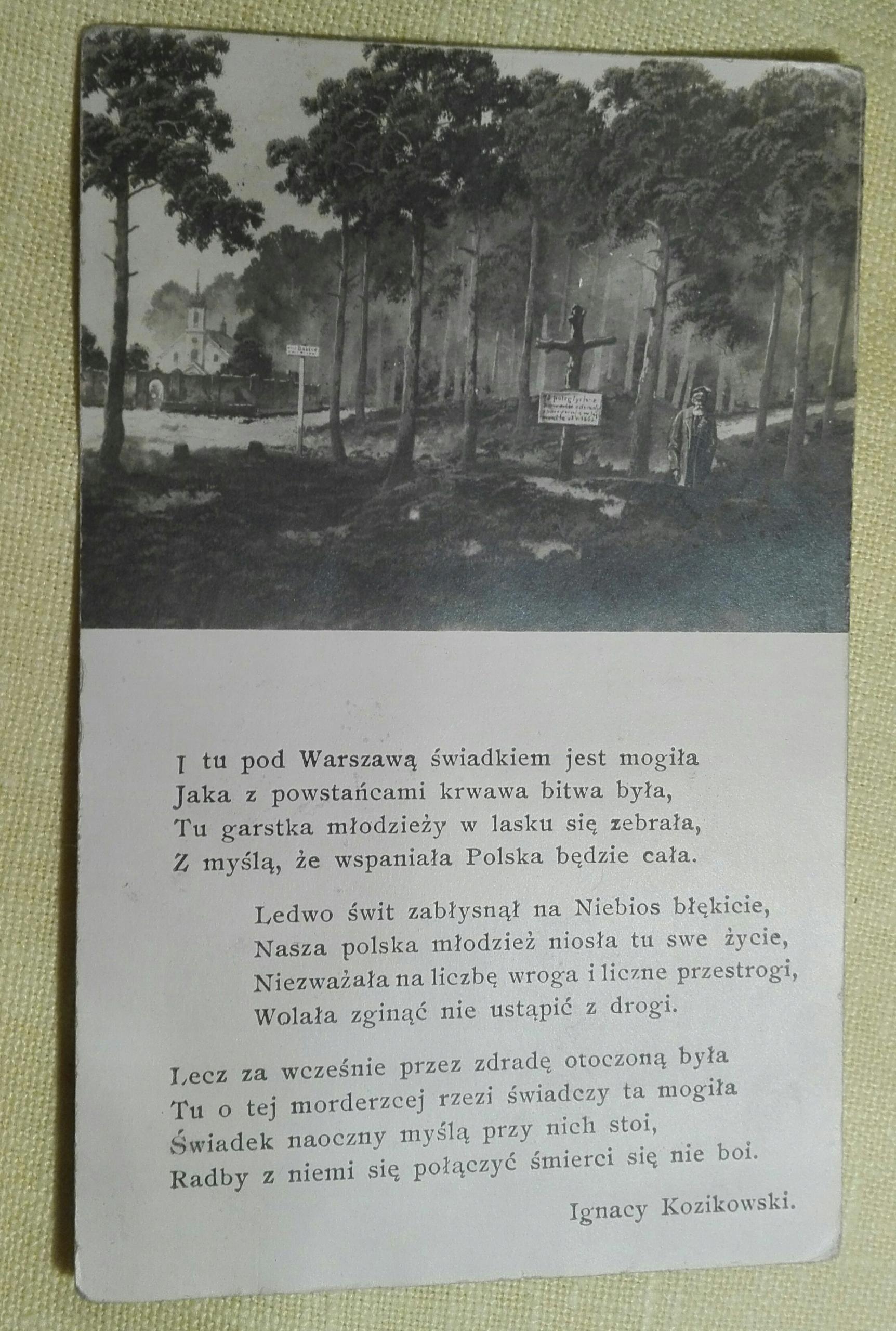 Kozikowski Wiersz Adres Sanok