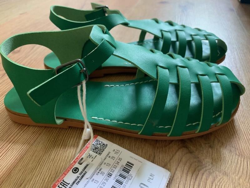 Sandały Zara 31
