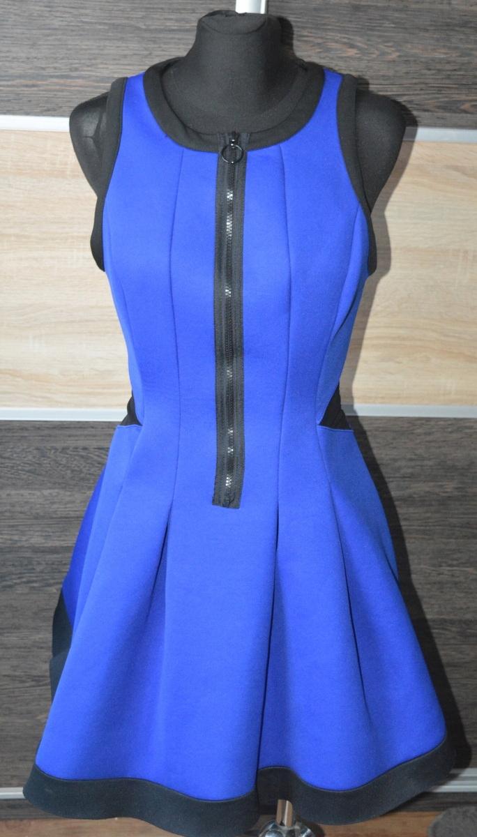 g* Piankowa sukienka rozkloszowana River Island 40