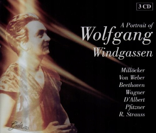 CD Windgassen, Wolfgang - A Portrait Of Works By M