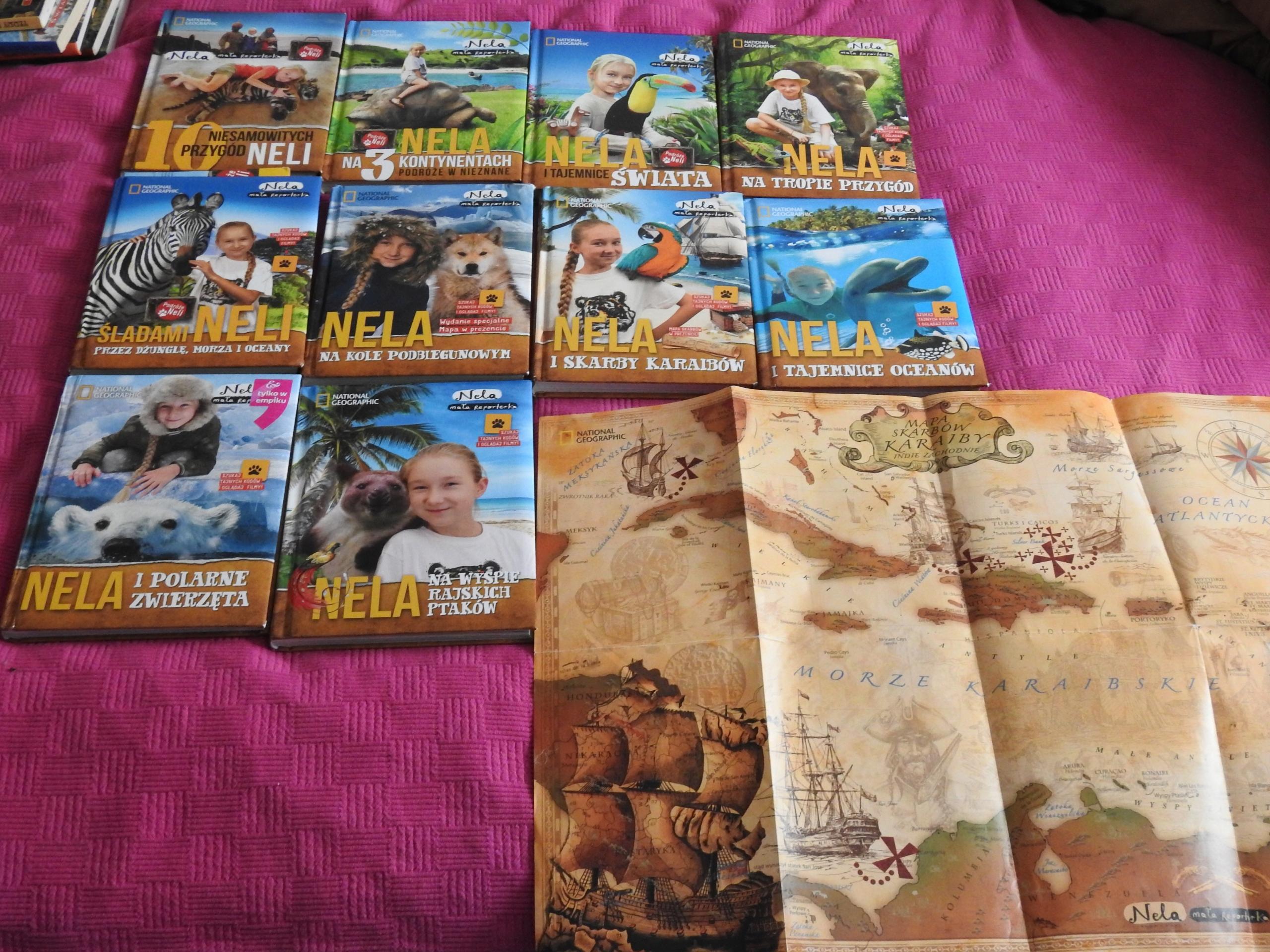 Nela Mała Reporterka zestaw 10 książek