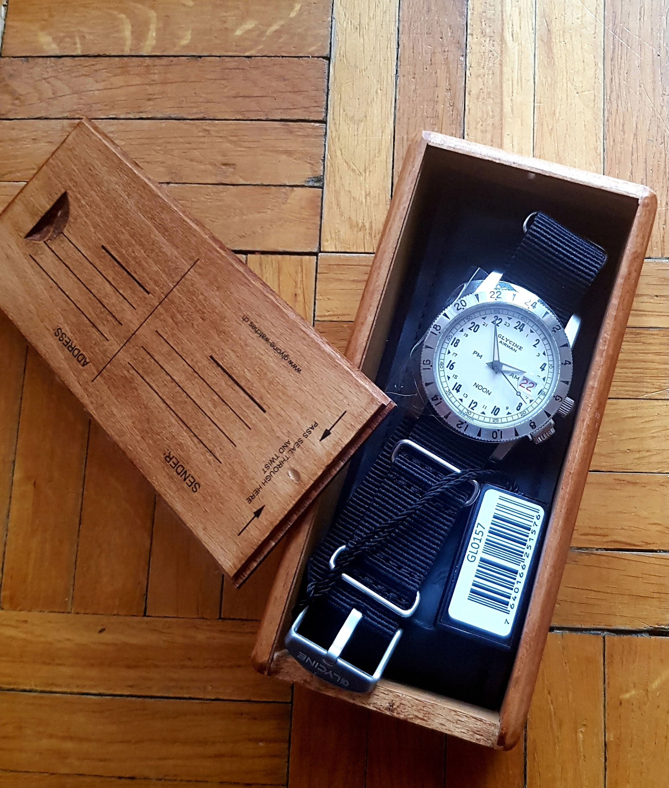 Zegarek Glycine GL0157 Limitowany nr 587/1000