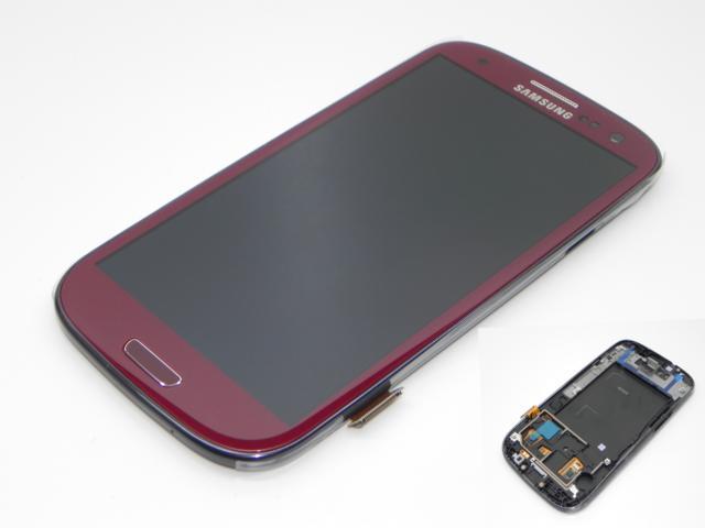 100%OR WYŚWIETLACZ LCD DOTYK SAMSUNG i9300 S3 RED