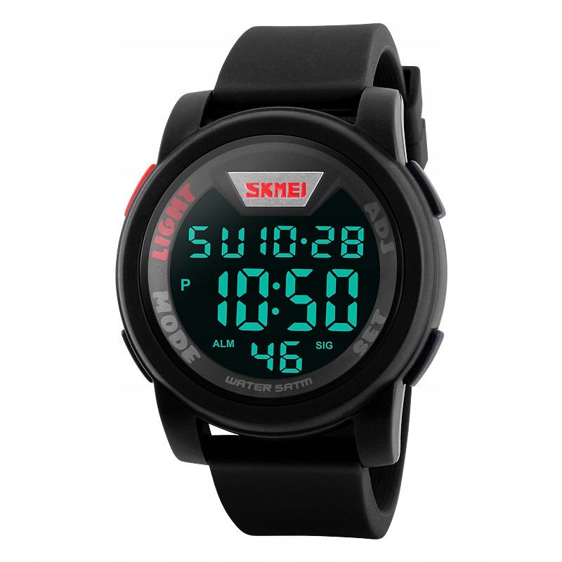 Zegarek męski - SKMEI - elektroniczny - 5 wzorów