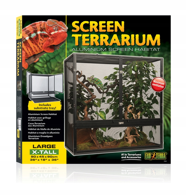 Exo Terra Terrarium dla kameleona 90 x 45 x 90 cm