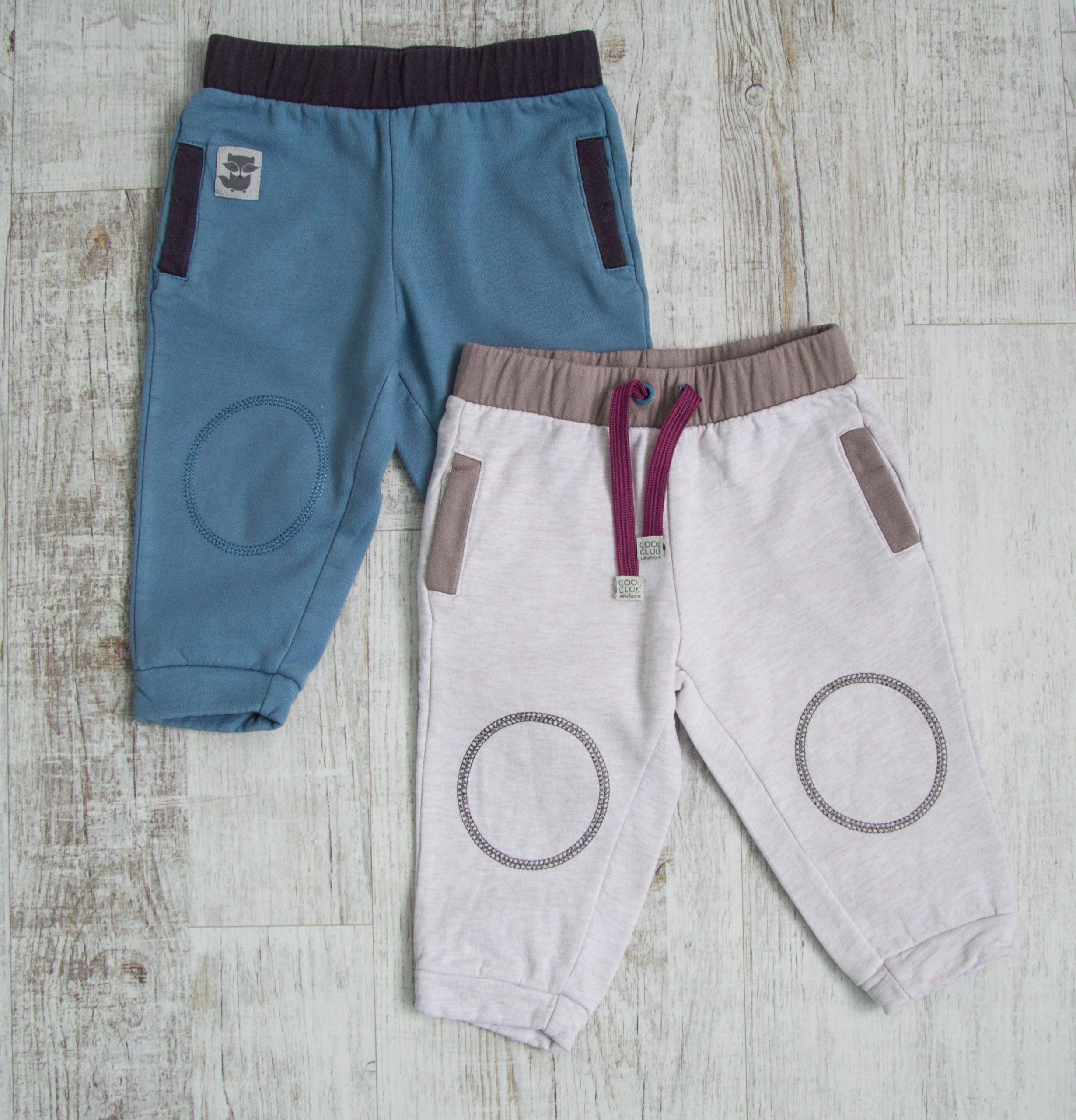 Spodnie dresowe dres dwie sztuki SMYK rozmiar 74