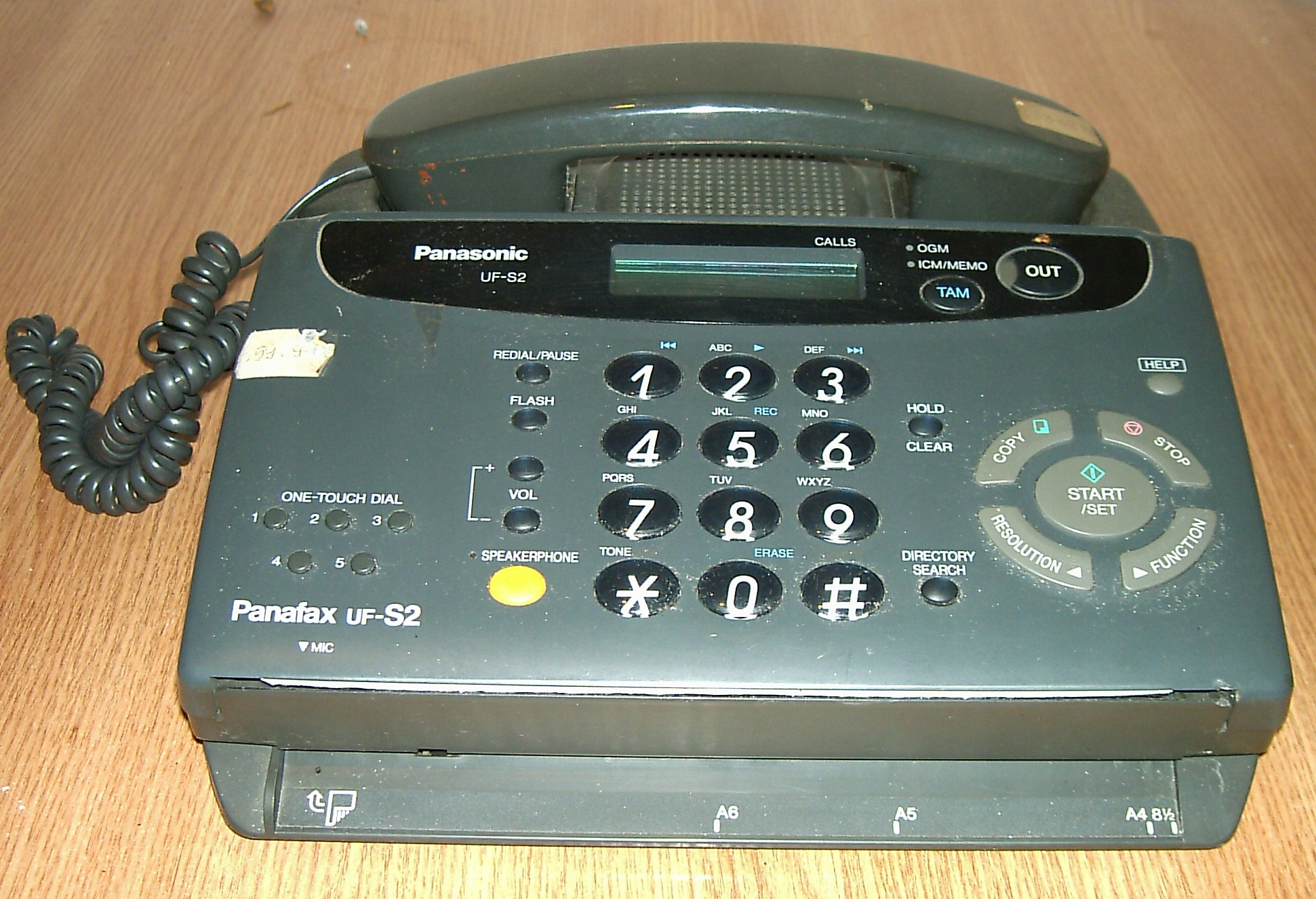 Telefon-fax-ksero - Panasonic Panafax UF-S2