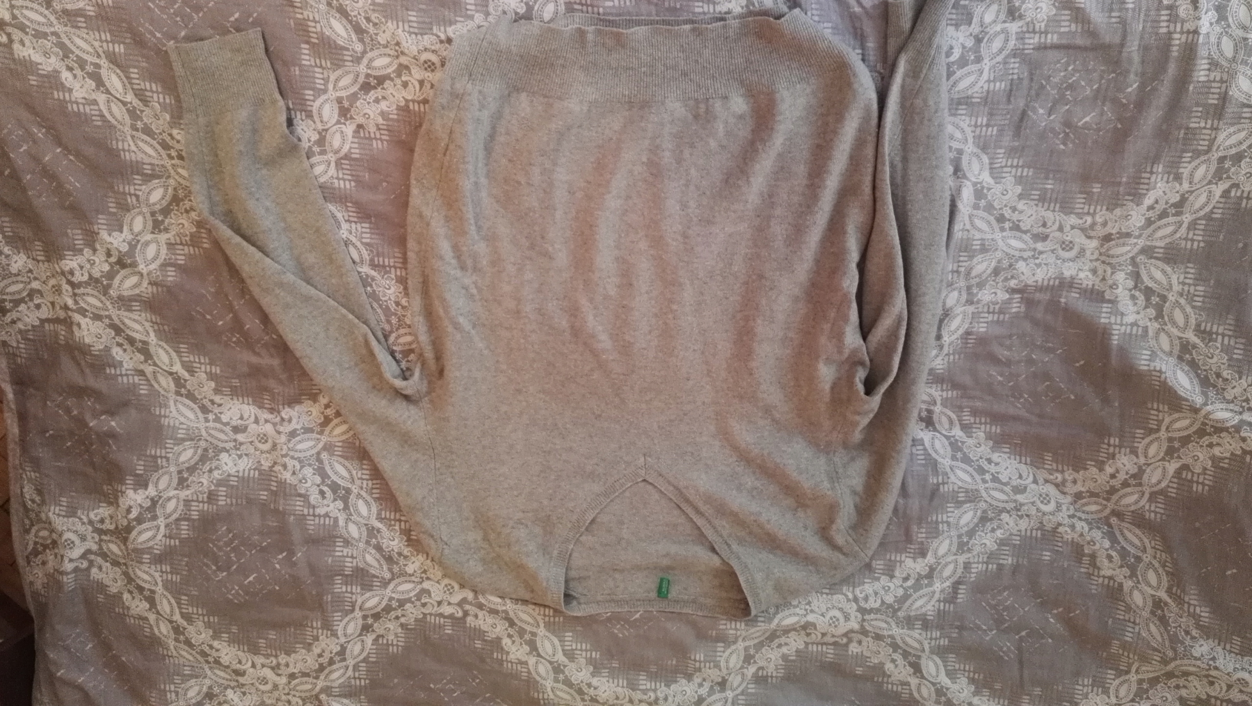 Sweter United Colors of Benneton 100% wełna L