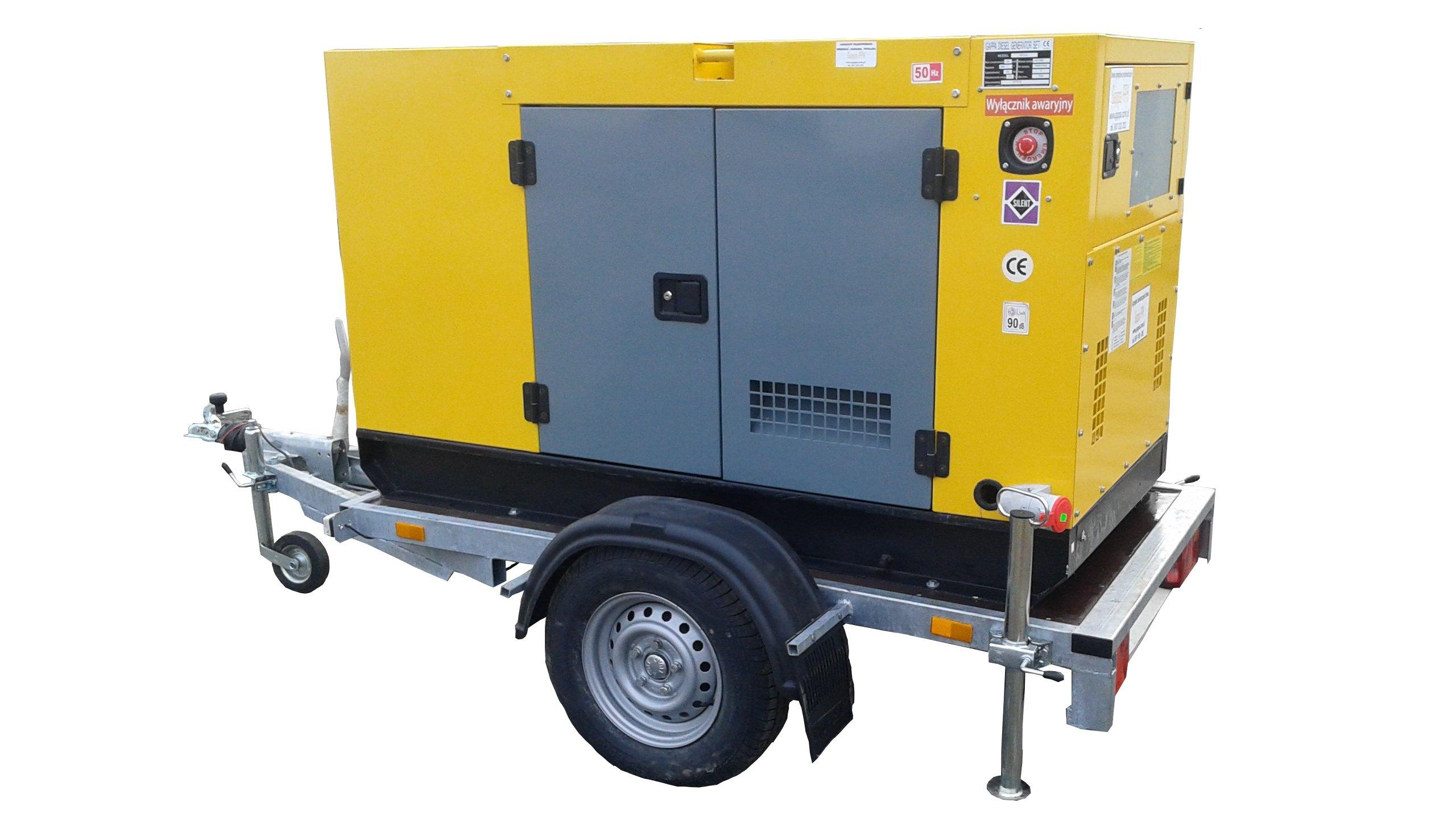Wynajem agregat prądotwórczy 15kW, Generator prądu - 7361272165