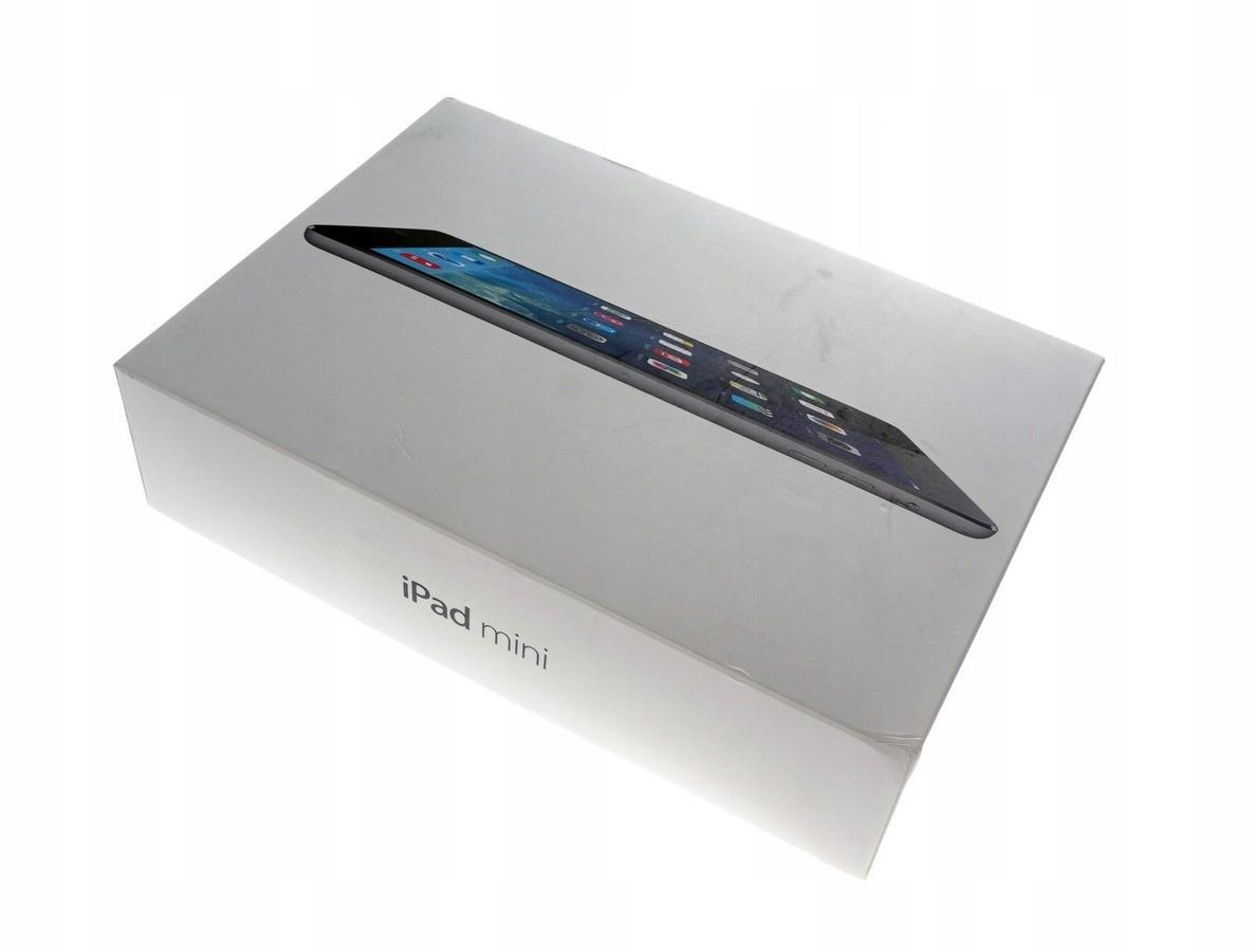 Pudełko Apple iPad mini 16GB A1432 SPACE GREY ORG