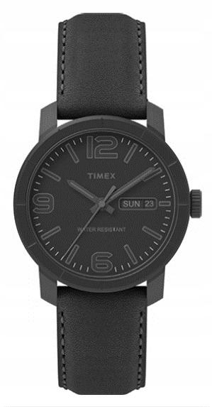 Zegarek męski na pasku czarny TIMEX