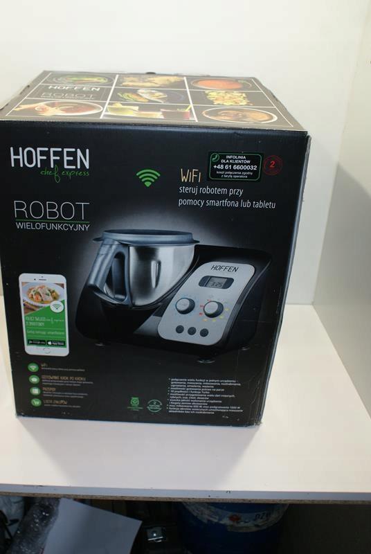 ROBOT KUCHENNY WIELOFUNKCYJNY HOFFEN/KOMPLET JAK