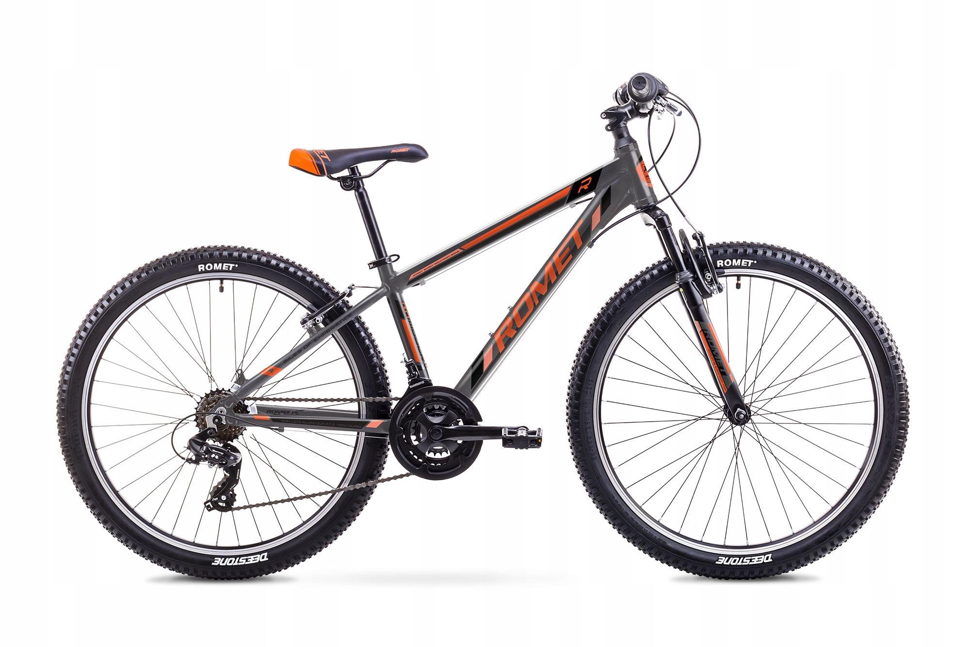 ROWER Górski MTB Rambler 26 Szaro-Pomarańczowy R21