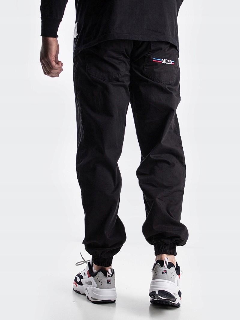 Spodnie Joggery Moro Sport Blue-Red Moro Black M