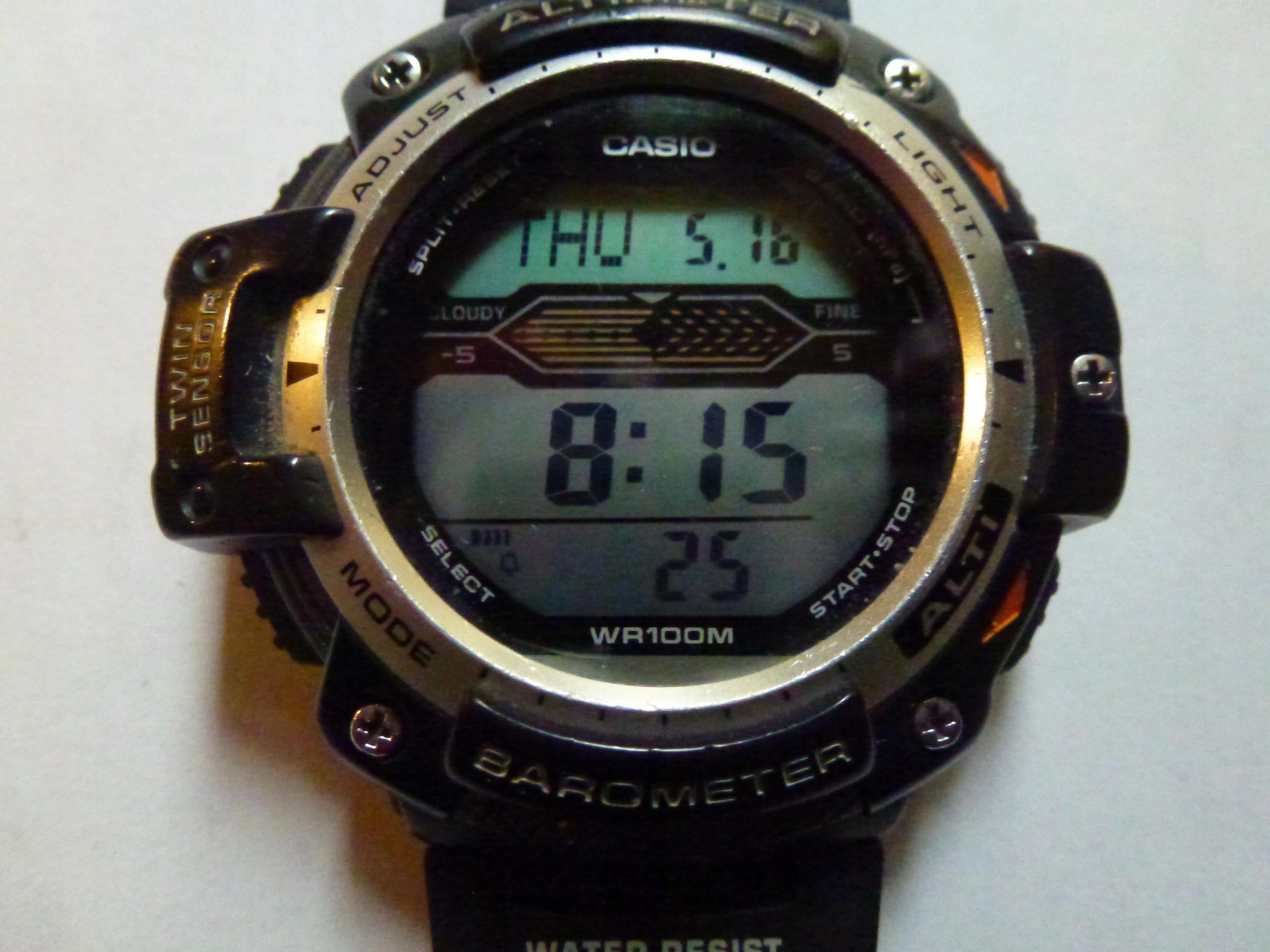 Zegarek CASIO SGW-300 H Protrek