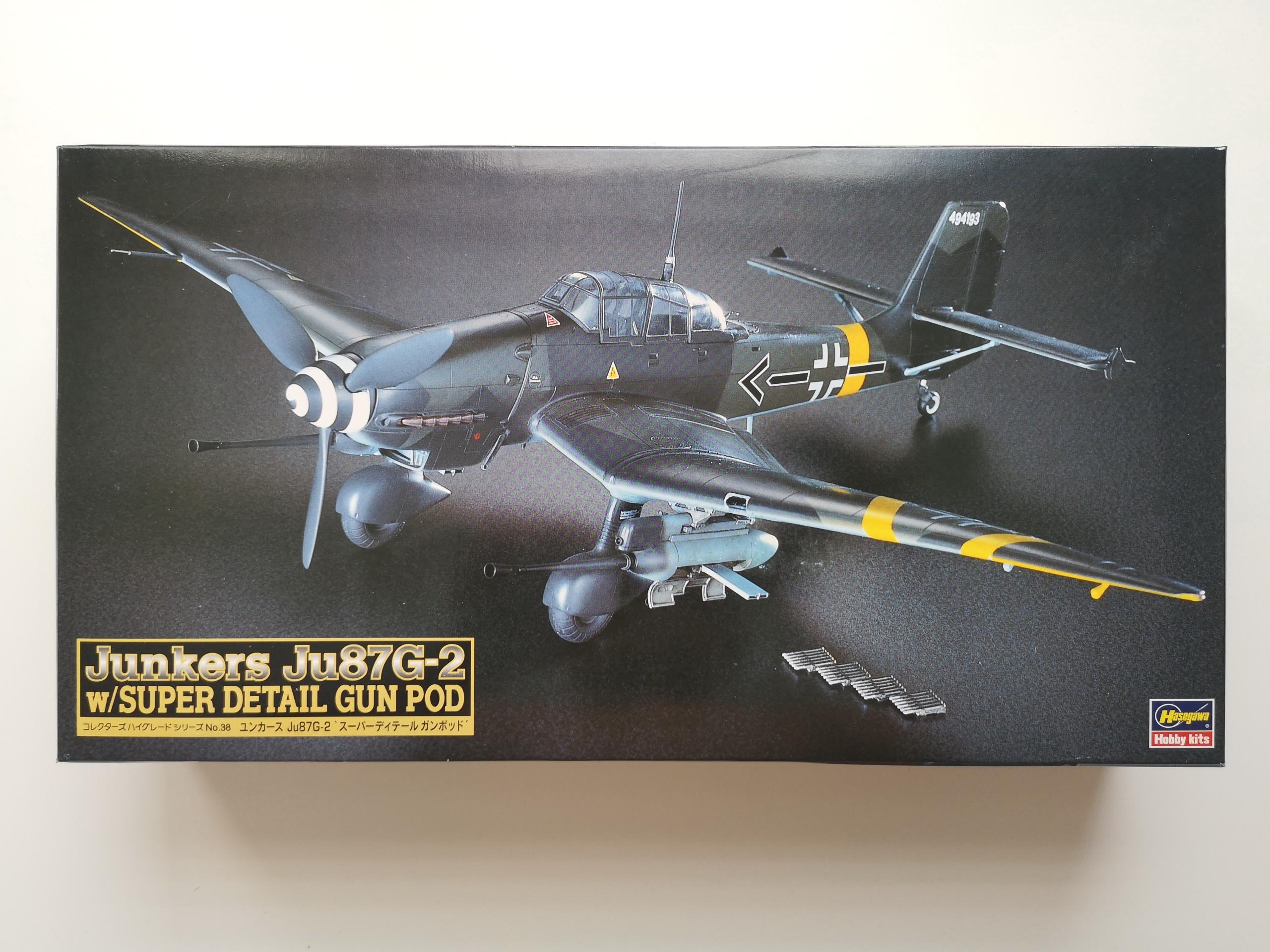 Junkers Ju-87G-2 - Hasegawa 1:48 plus dodatki