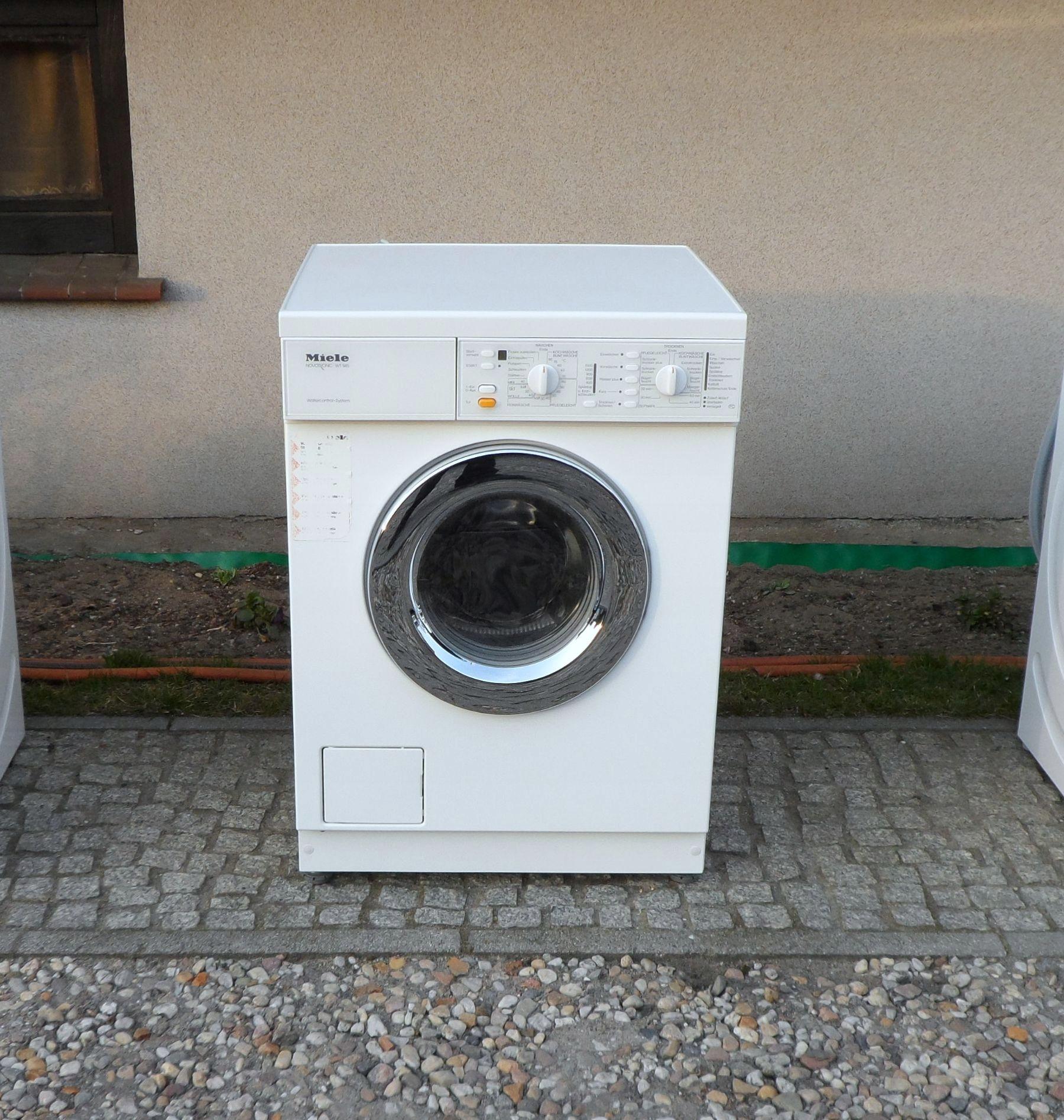 PRALKO-SUSZARKA MIELE NOVOTRONIC W 945 WCS
