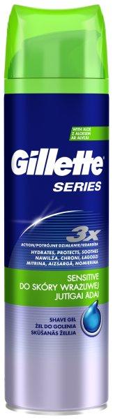 Żel Gillette Series dla skóry wyjątkowo wrażliwej
